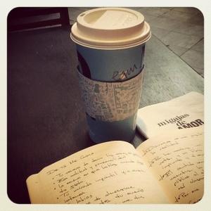 Una café y mis notas