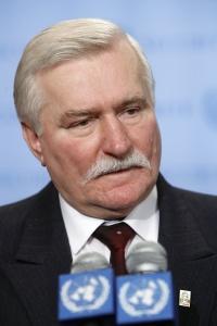 Lech Walesa | UN Photo
