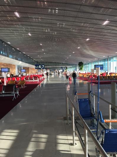 Aeropuerto Charles de Gaulle, París.