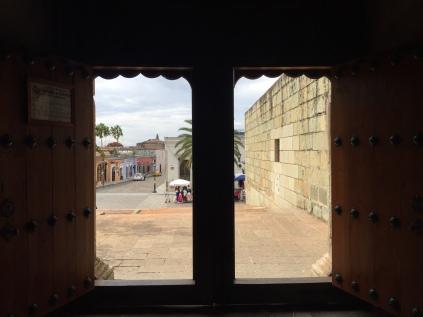 Oaxaca, Mitla, Mexico, Iglesia, Pueblo.